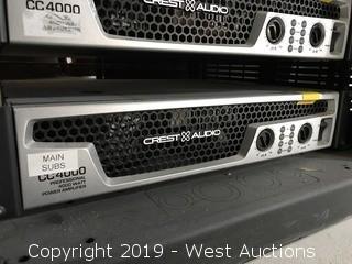Crest Audio CC4000 Power Amplifier