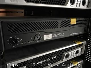 Crest Performance CPX 1500 Power Amplifier