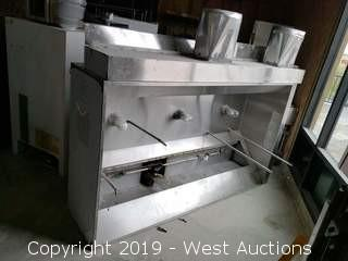 CaptiveAire Commercial Stainless Steel Hood
