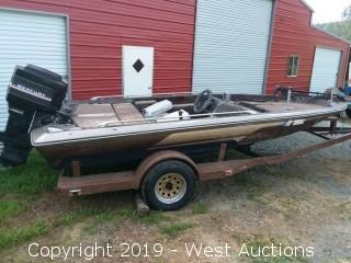 1983 Skeeter Boat and 1982 Trailer