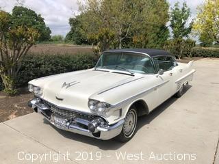 1958 Cadillac De Ville Sedan Series 62