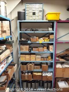 6' Rack With Scale Weights,  Tooling, Minilux Buffing Compound And More