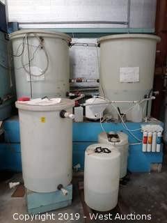 (5) Poly Tanks - 20 Gallon To 200 Gallon
