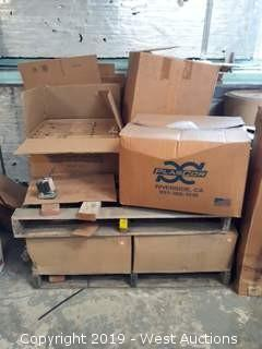 (5) Boxes Full Of Merkel-Korff 3732up-385 Motors