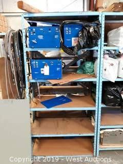 (3) Parted Out Jofre Cleaner Units With 6' Rack