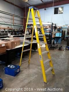 Louisville 8' Fiberglass Folding Ladder