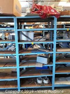 6' Steel Shelf  Rack With Jofre Parts