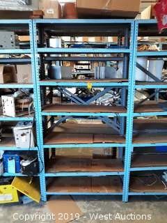 6' Metal Shelf  Material Rack
