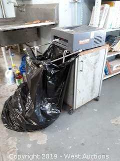 Paper Shredder with Cart