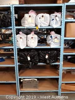 (8) Used Jofre Steam Cleaner Units With 6' Rack