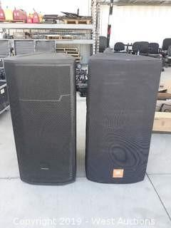 "(1) JBL PRX735 15"" 3-Way Powered Loudspeaker System"
