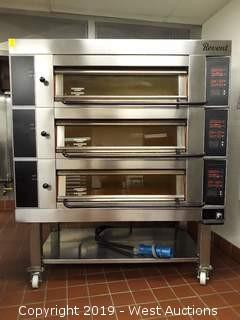 Revent 649 3 Tier Electric Deck Oven