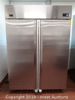 Hoshizaki CR2B-FS Two-Section Reach-In Refrigerator