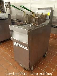Dean SM150G Super Marathon Gas Fryer