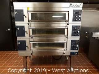 Revent 649 3 Tier Electric Deck Oven