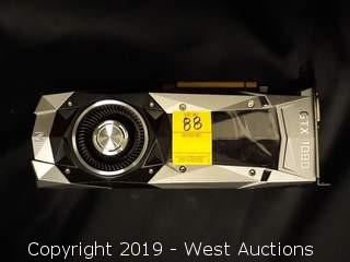 Nvidia GTX 1080 8GB Video Card