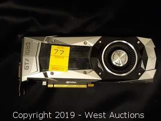 Nvidia GTX 1080 8 GB Video Card