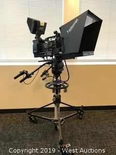 JVC GY-HD250 Camcorder With Autoscript Camera Teleprompter And Mount