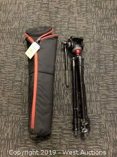 Manfrotto Tripod With Fluid Head