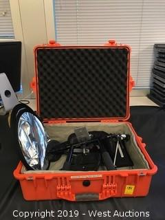 Pelican 1600 Case With Camera Mounting Attachments