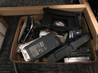Box Of Electronic/Camera Parts