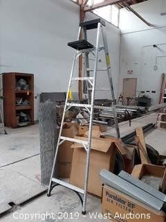 Husky 8' Aluminum Folding Ladder