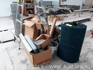 Bulk Lot: Fasteners, Flex Duct Connection, Pipe Fitting And More