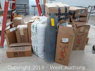 Bulk Lot: Flex Ducting, Air Filters, And More