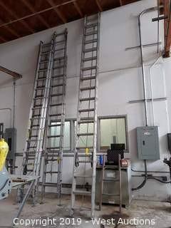 Werner 36' Aluminum Extension Ladder