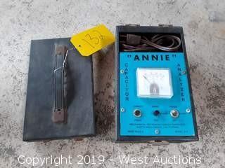 Annie Model A-4 Capacitor Analyzer