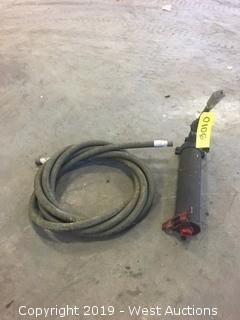 Hydraulic Pump And Hose