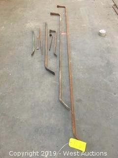 (8) Assorted Prybar Kit
