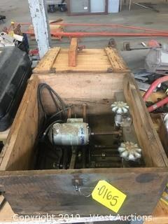 Industrial Antique Hole Maker