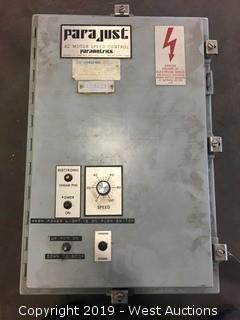Parajust AC Motor Speed Control