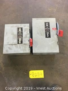 GE Safety Switch Boxes