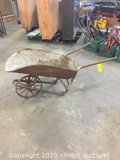 Metal Wheelbarrow