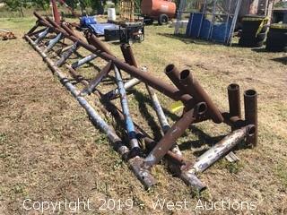 (2)  30' Long Pipe Racks