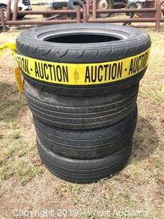 (4) Various Size Truck Tires