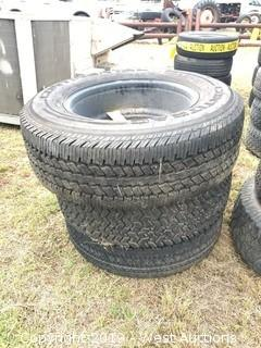 (3) Various Size Truck Tires