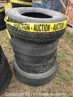 (5) Various Size Truck Tires