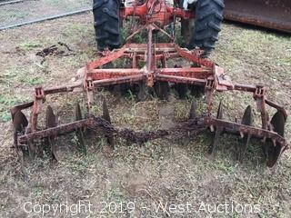 Strathmore Machinery 66 Dual Row Disc Cultivator Attachment