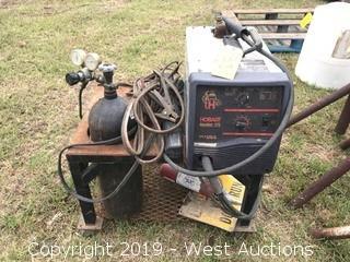 Hobart Handler 175 Welder Setup