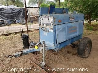 Lincoln Electric Trailer Mounted Diesel Shield-Arc Welder SA-250