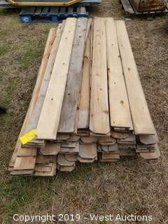 Pallet Of 6' Fence Planks