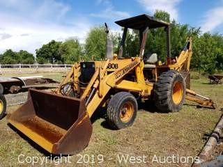 Case 580B Construction King Backhoe (Not Running)
