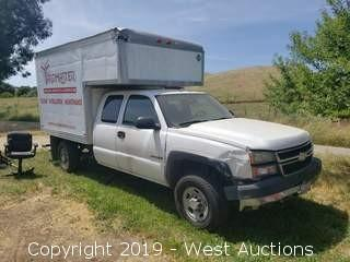 2007 Chevrolet 2500 HD Box Truck