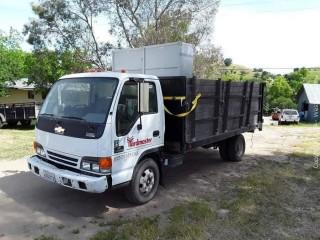 2005 Chevrolet W4500 Stake-Side Dump Truck