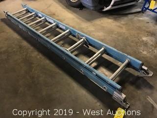 Werner 16' Fiberglass Extension Ladder