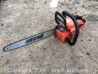 "Echo CS-400 18"" Gas Chainsaw And Carry Case"