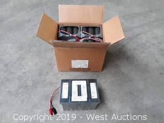 (4) EnerSys Energy Cyclone 24V 8AH Sealed Lead Acid Battery